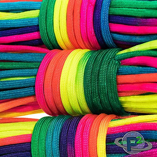 PARACORD PLANET Rainbow Dye Cord 101 Feet by PARACORD PLANET (Image #3)