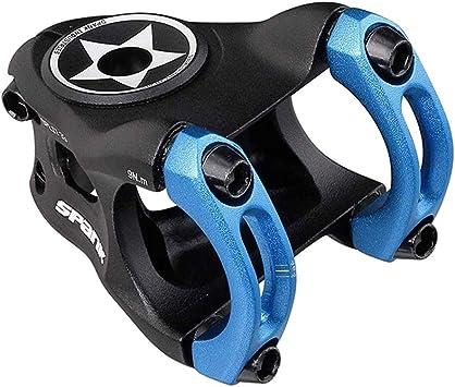 Spank Split Stem - Potencia para Bicicleta de montaña (Unisex, 33 mm), Color Azul: Amazon.es: Deportes y aire libre