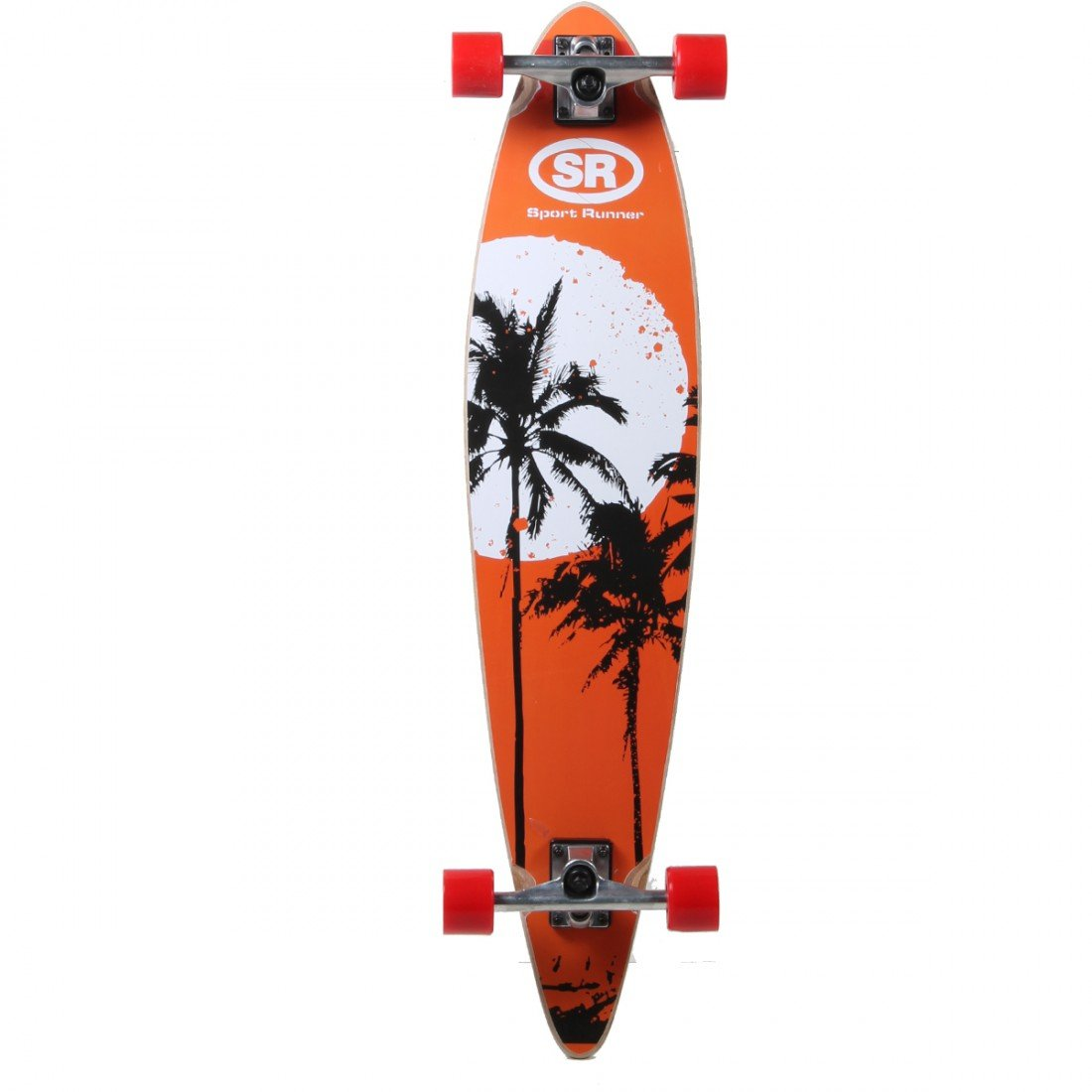 speelight goed YX-0220 F – Skateboard, Bois, Long, 97 cm
