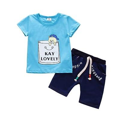 site réputé 14c77 42fbd Bébé Garçon Survêtement Outfit Lovely T-shirt à manches ...