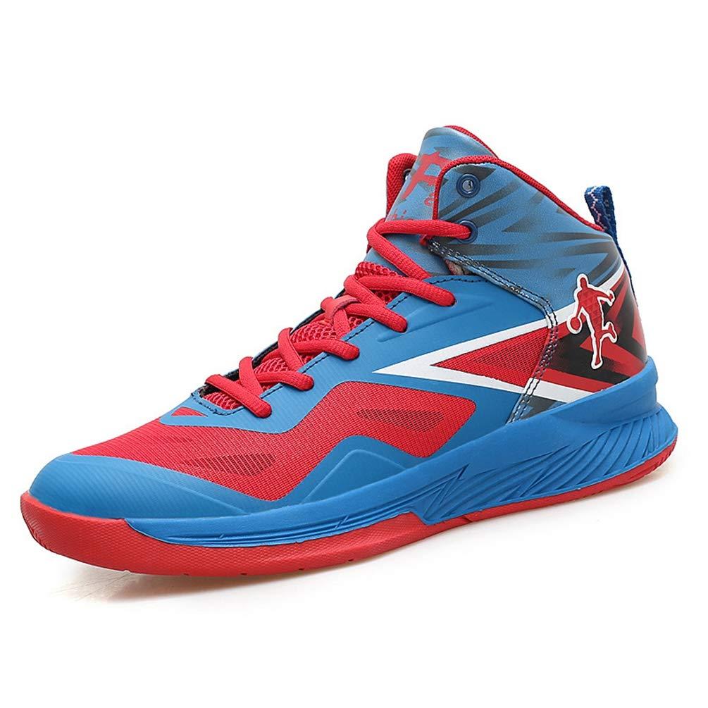 Homme Chaussure de Basket-Ball de Multisport Outdoor Sneaker Chaussure Basket Mode Respirant Léger Résistant à l'usure 39-45