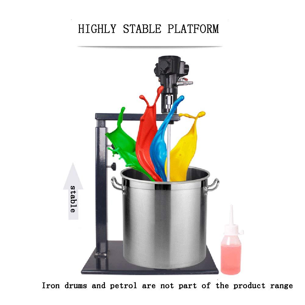 Pneumatic Paint Mixer 5 Gallon 20L Pneumatic Paint Mixer Machine Ink Coating Mixing Tool Shipping from USA