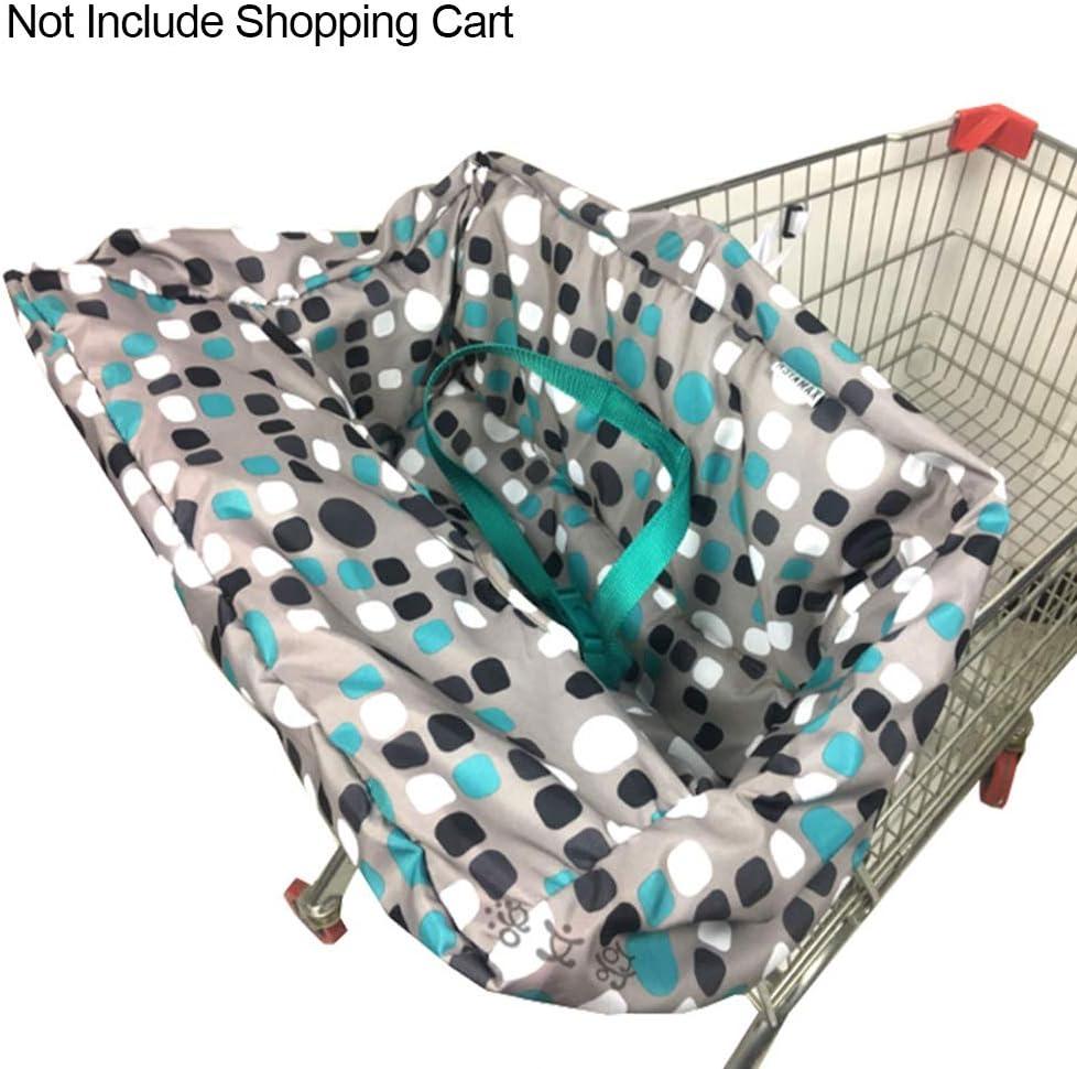 ZHANGLI Shopping Cart Seat Covers Mat for Baby Portable Non-Slip High Chair Multifunctional Baby Supermarket Shopping Cart Mat Cushion
