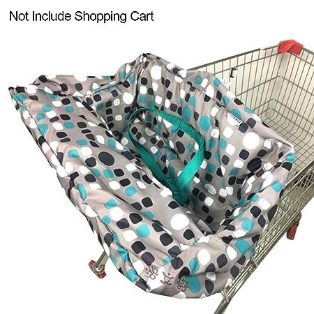 Funda para asiento de carrito de la compra, funda para silla alta ...