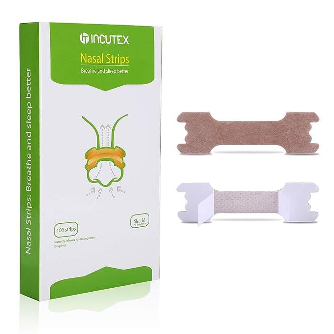 27 opinioni per Incutex 100x cerotti nasali per non russare cerotti per naso antirussamento per