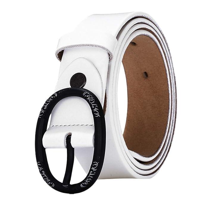 sconto anteprima di diventa nuovo FRAUIT Cintura Donna Cuoio Alta Cinture Ragazza Eleganti In Pelle ...