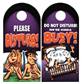 Do Not Disturb We're Kinda Busy Funny Door Review and Comparison