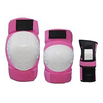 Juego de 6 piezas de material deportivo para niños Protector de ruedas Patines Patinaje sobre ruedas