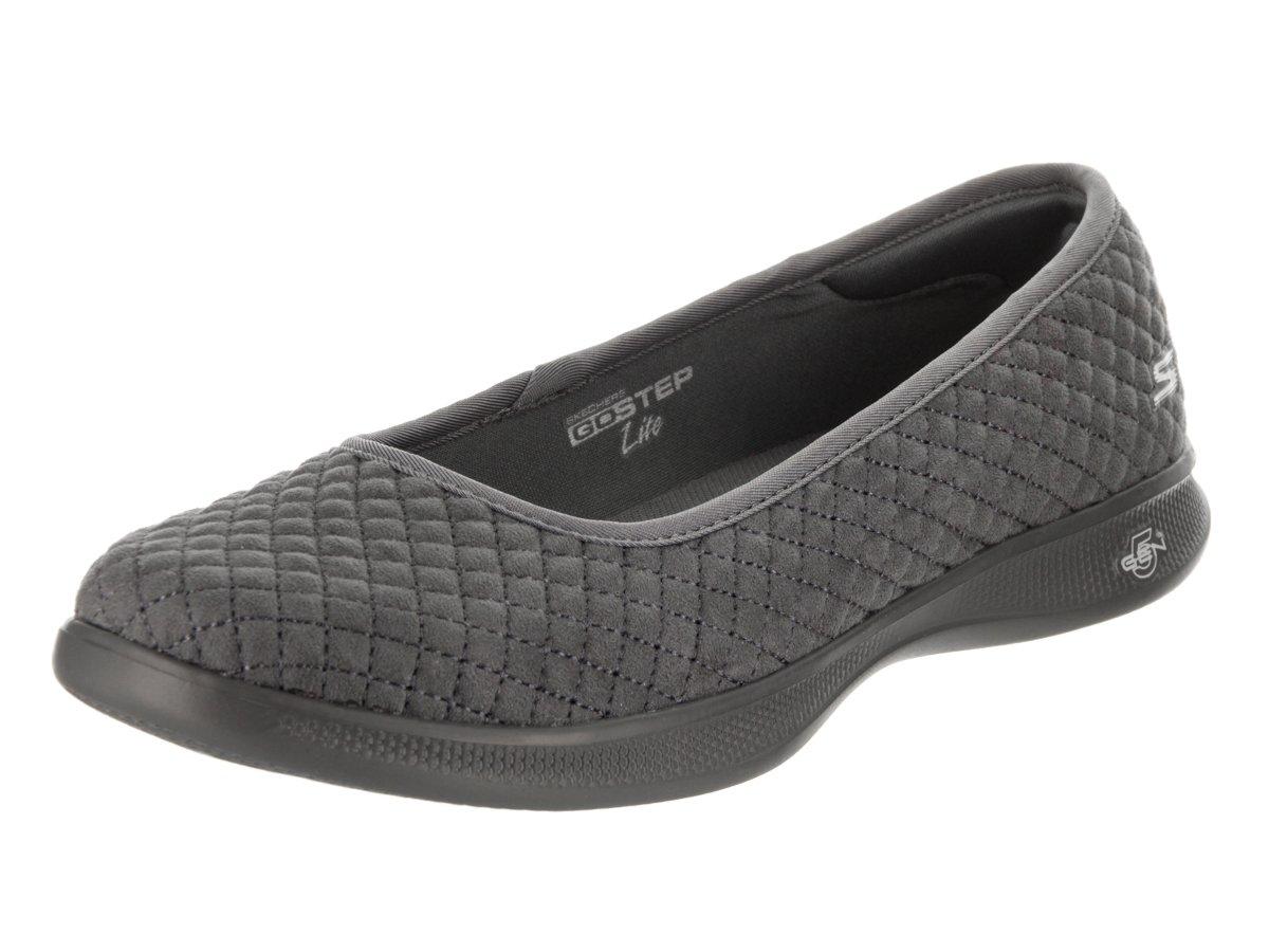 Skechers Women's Go Step Lite-14742 Walking Shoe B0752X83PM 5 B(M) US|Charcoal