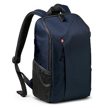 Manfrotto NX - Mochila para cámara CSC (Acceso Trasero, Compartimiento de la cámara extraíble) Color Azul: Amazon.es: Electrónica