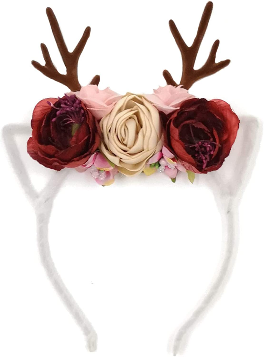 ICheap Reindeer Antlers Headband Deer Party Hats for Christmas and Easter Kids/' Party