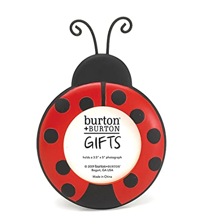 Amazon.com - Ladybug Round Picture Frame Adorable Photo Frame ...
