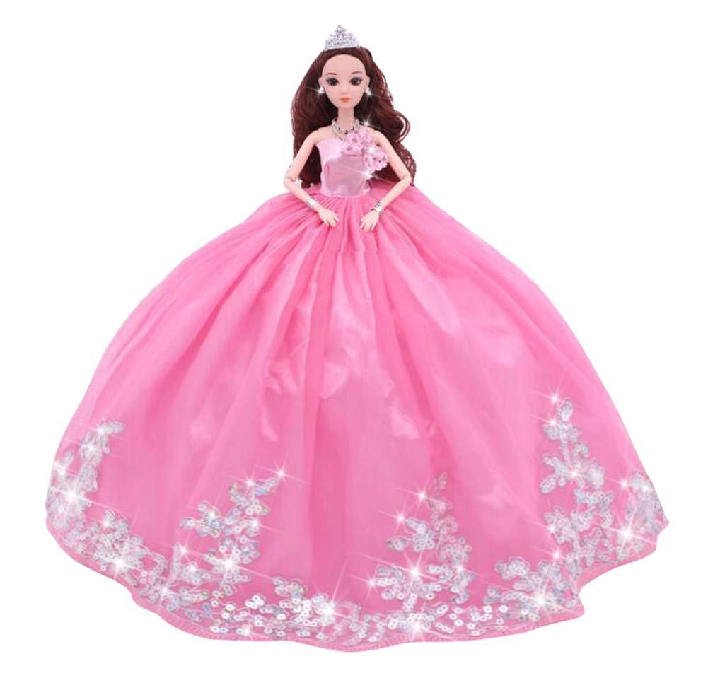 Lindo vestido de novia grande muñecas de estilo chino niña juguete ...