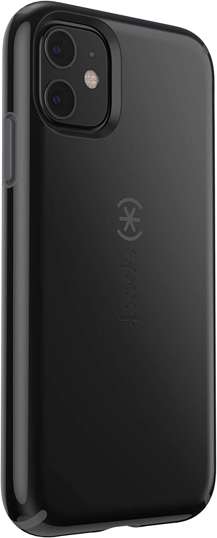 Speck CandyShell iPhone 11 Case, Black/Slate Grey