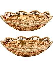 """Fruit Platter Bowls Baskets Storage (2, 11.8"""")"""