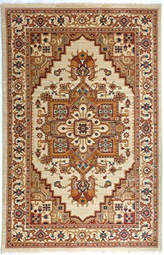 Antep Rugs Oriental Wave Collection Tabriz Design Area Rug, 93