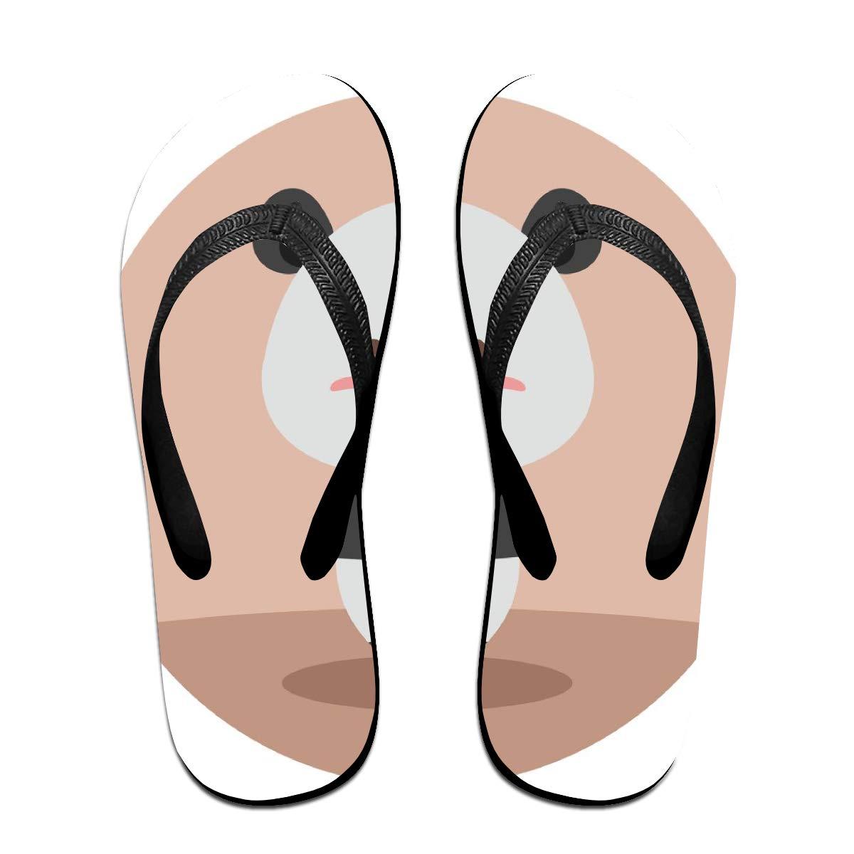 Flip Flops Panda Womens Beach Slippers Top Sandals for Woman