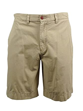 Tommy Hilfiger Mens Flat Front Academy Shorts
