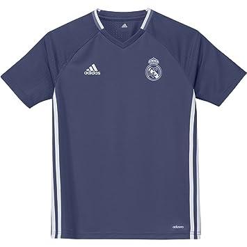 adidas Trg Jsy Y Camiseta Entrenamiento Real Madrid Fc, Niños, Rosa (Mornat /