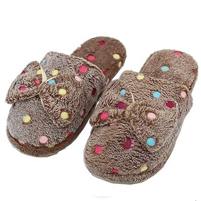 Encantador Zapatillas Lindo Casa Para Mujer Arco De qPxRIwRZF