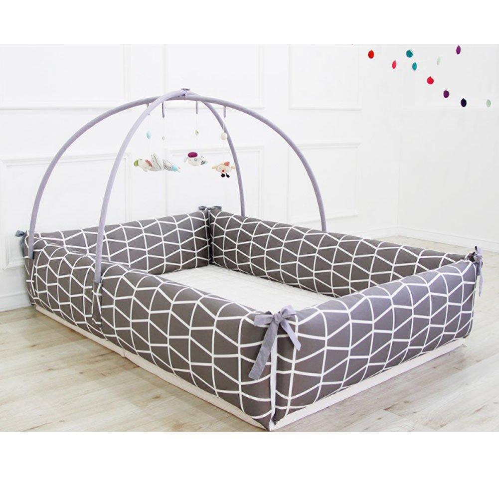 Maming Baby Bumper Bed Crib Bumper (Brick)
