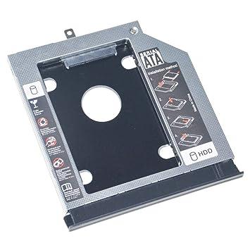 2º HDD SSD Marco óptico de Disco Duro Adaptador de Caddy para ...