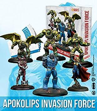 Knight Models Juego de Mesa - Miniaturas Resina DC Comics Superheroe - Superman Apokolips: Amazon.es: Juguetes y juegos