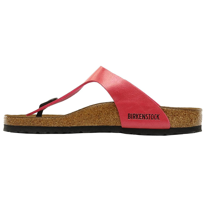 Birkenstock Women's Gizeh Birkibuc Sandals B0091FKJMO 40 M EU|Cherry