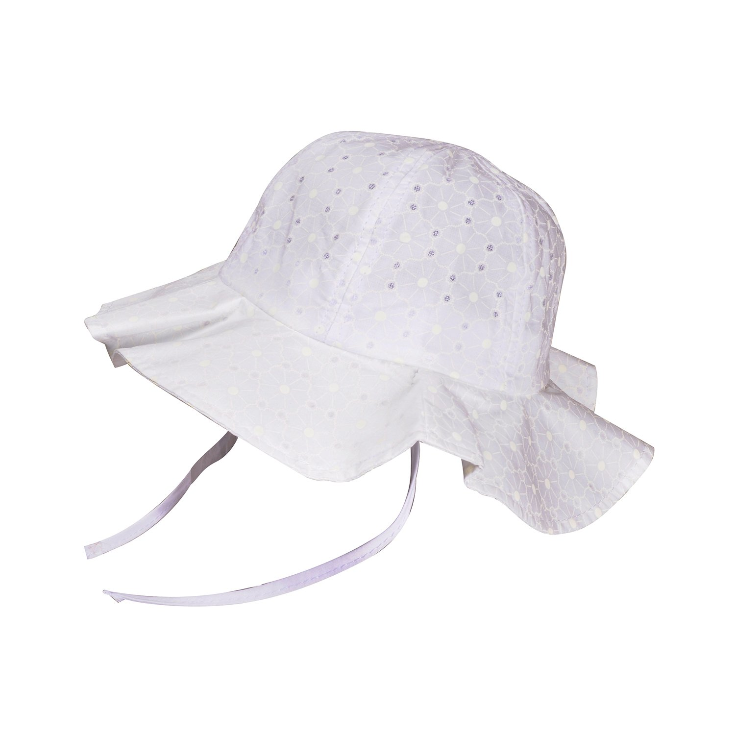 RORKEE Infant Toddlers Baby Girls Wide Brim Sun Protection Summer Floppy Hat(Pack of 2) by RORKEE (Image #4)