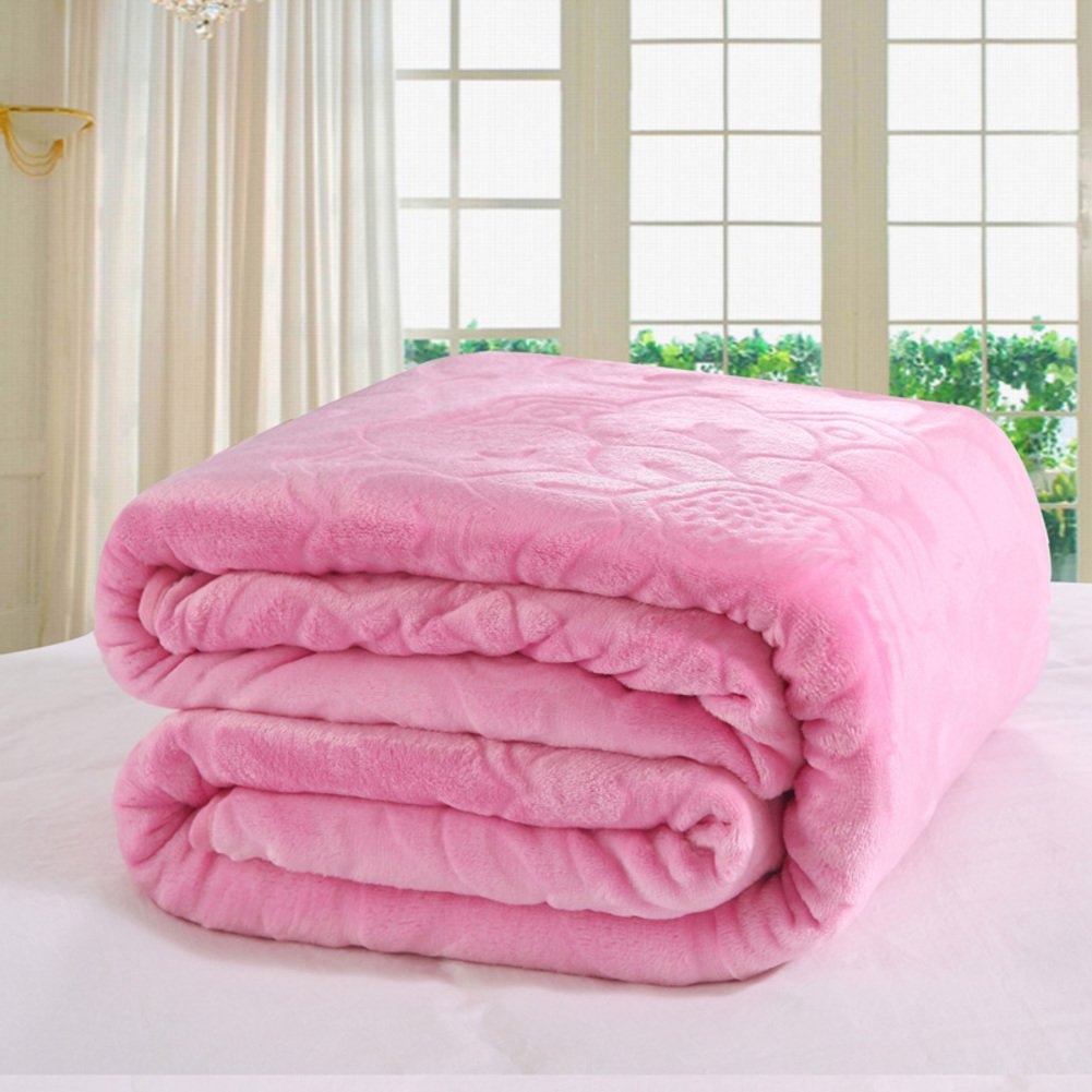Fall/winter Warm Blanket/ Flannel Blanket/towel Blanket / Blanket/ Coral  Fleece