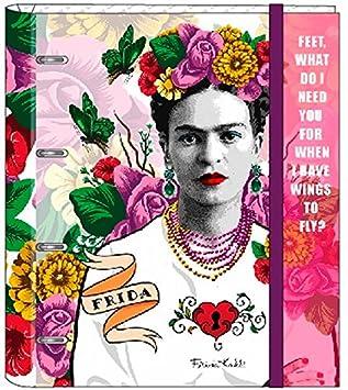 Frida Kahlo- Carpeta 4 Anillas 30 mm con Recambio (SAFTA 561646666)