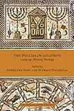 The Psalms of Solomon: Language, History, Theology