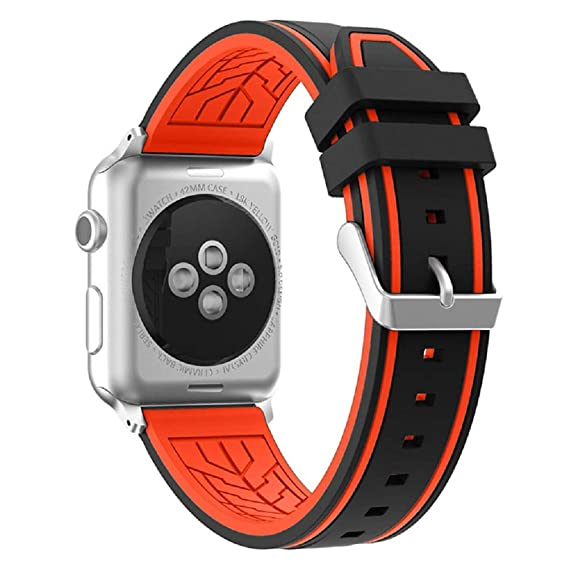 Correa Reloj Apple Watch 40mm, Fmway Repuesto de Correa Reloj de Silicona para Apple Watch