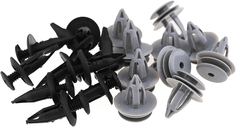 OTOTEC Lot de 20 Pinces de Garniture pour Panneau de Garniture Automatique Jaguar X Type Plastique