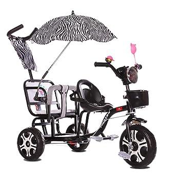 Amazon.com: Cochecito de bebé de tres ruedas para niños con ...