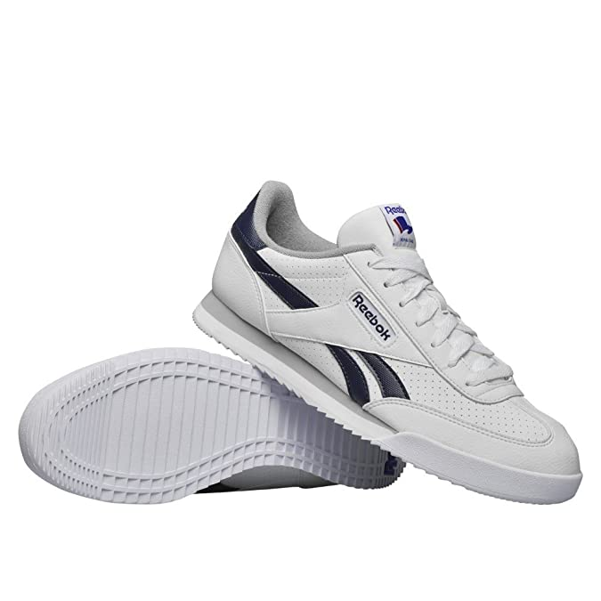 Reebok Herren Royal Rayen 2L Laufschuhe, Blanco/Azul/Gris (White/Collegiate  Navy/Tin Grey), 45 1/2 EU: Amazon.de: Schuhe & Handtaschen