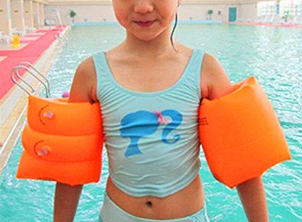 WENHAOYU - Brazalete hinchable para piscina, brazos de flotación, anillos de natación, flotadores, brazos de tubo, amarillo: Amazon.es: Deportes y aire ...