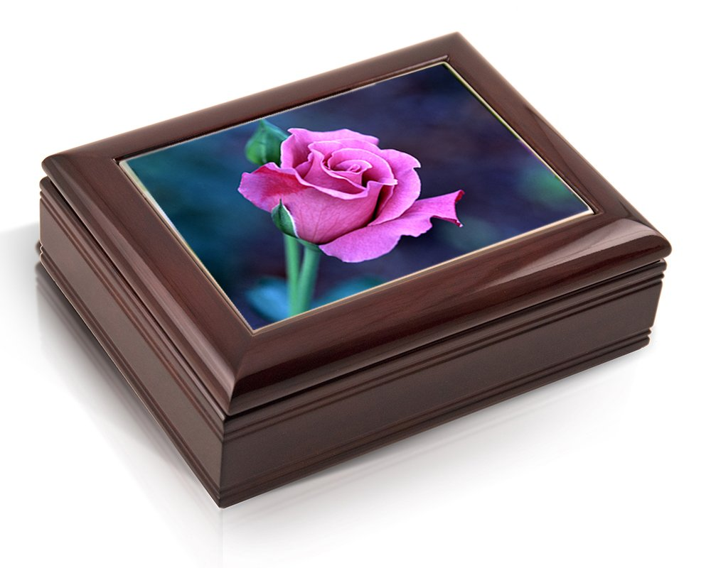 Deluxe Music Box - Purple Rose - Lara's Theme by Hawaiian Music Boxes