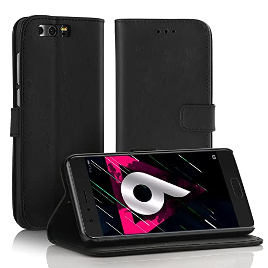 2 opinioni per Simpeak Flip Cover Huawei Honor 9,Custodia Huawei Honor 9 in Pelle Portafoglio