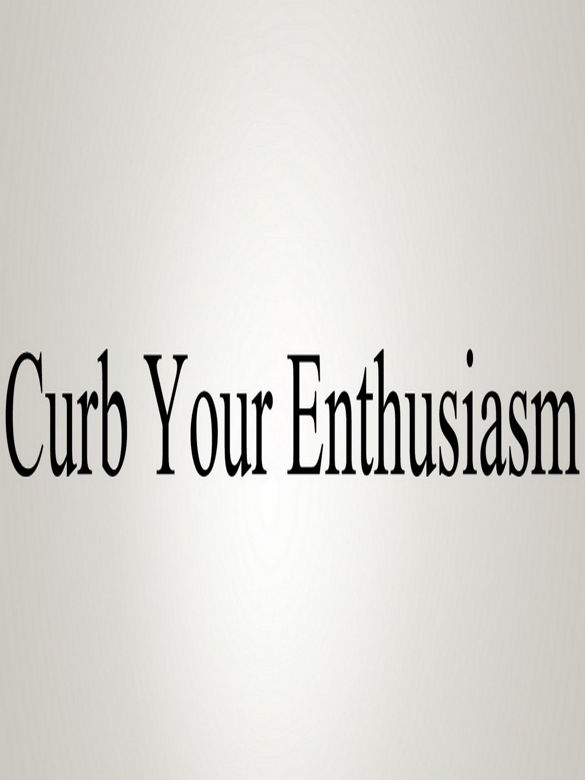 Watch How To Pronounce Curb Your Enthusiasm  Prime Video
