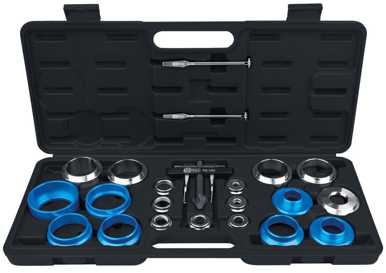 KS Tools 700.1280 - Removedor sello Universal y manivela conjunto instalador, 24 piezas 4042146591710