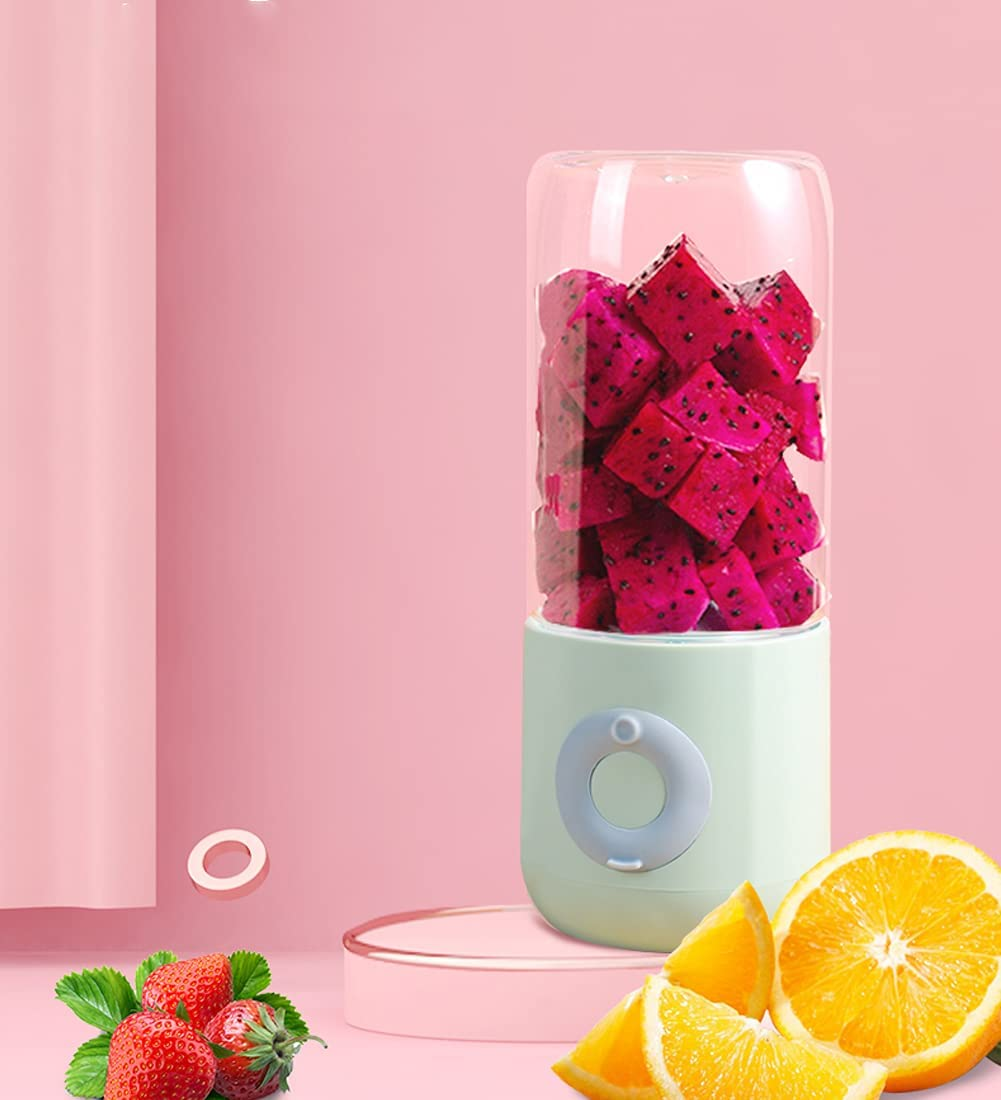 FOND Personal Blender for Shakes and Smoothies,Juicer Cup with USB Rechargeable Battery, Electric Power Mixer for Fruit and Vegetable
