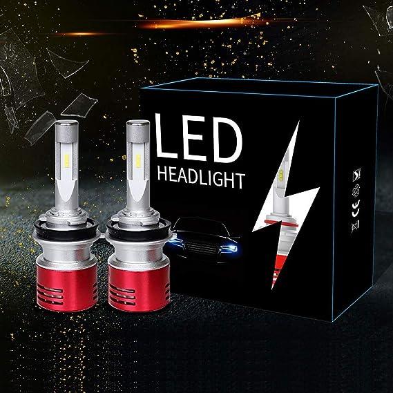9005 Car LED Headlights Kit Bulb 60W 8400LM 6000K HB3 LED Headlamp SEOUL Y19 Chips Plug and Play HB3//9005 LED Lights 2 Year Warranty