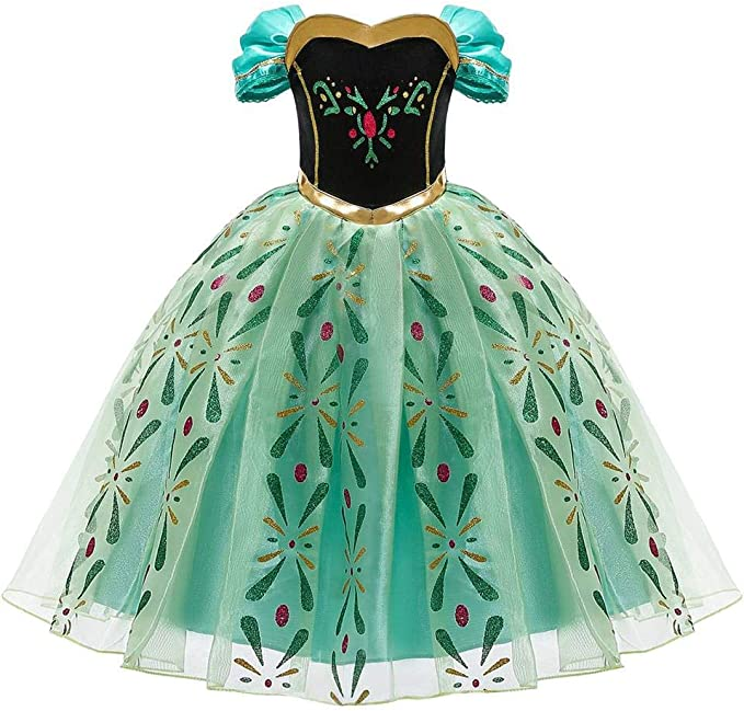 OBEEII Vestido de Niña Princesa Disfraz Cosplay Costume Disfraces ...