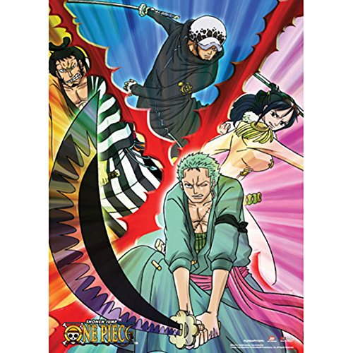 One Piece Swordsmen Wall Scroll Anime Posters