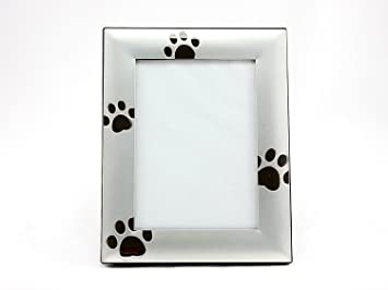 Amazoncom Skyway Puppy Dog Paw Print Pet Photo Picture Frame