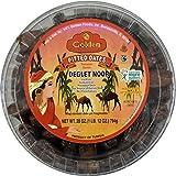 Golden Deglet Noor Kajoor Dates, Pitted, 28 Ounce - Tunisian