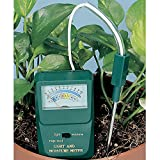 Soil Moisture and Light Meter, Sav-A-Plant II