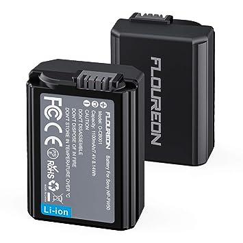 Amazon.com: NP-FW50 - Batería de repuesto para cámara Sony ...