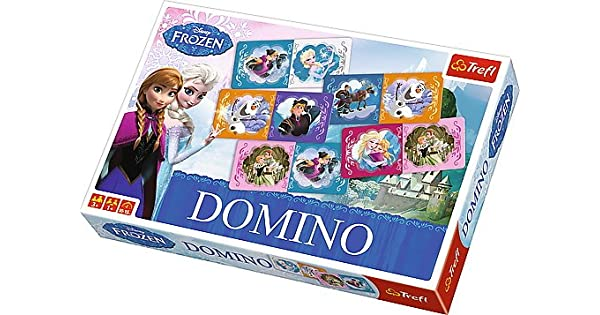 Amazon.com: Domino Disney 's Frozen Rompecabezas: Toys ...